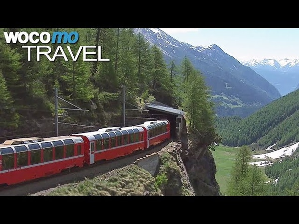World's Most Beautiful Railway - The Bernina Express