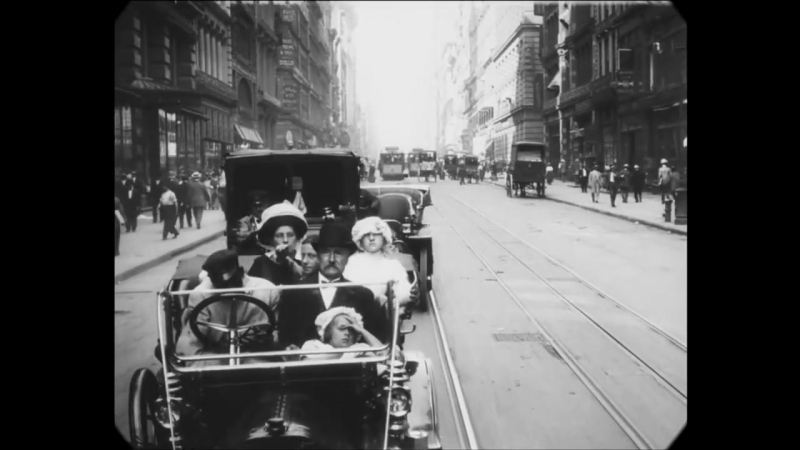 1911 - A Trip Through New York City (speed corrected w_ added sound)
