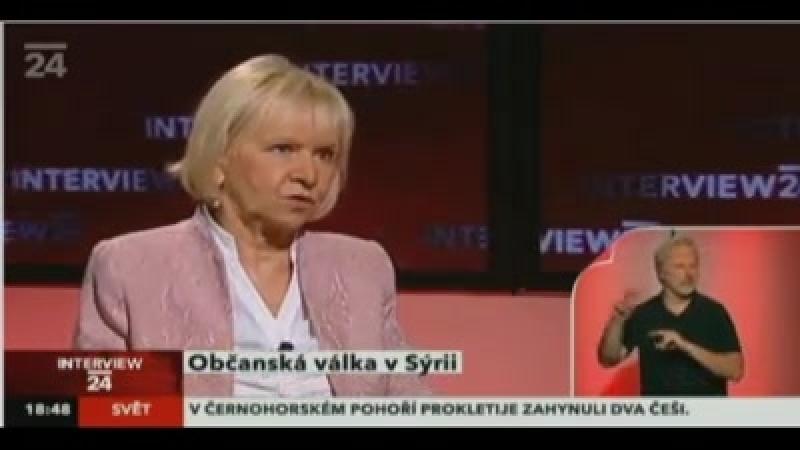 Opravdu zajímavá debata s českou velvyslankyní v Sýrii