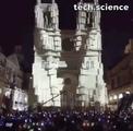 Light show Rockfall Cathedral EVILALIVE Vereteno