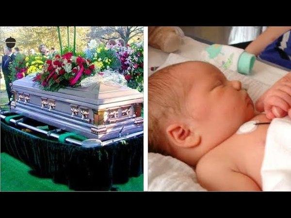 Беременную женщину хоронили, когда из гроба раздался детский плач! Никто не мог в это поверить!