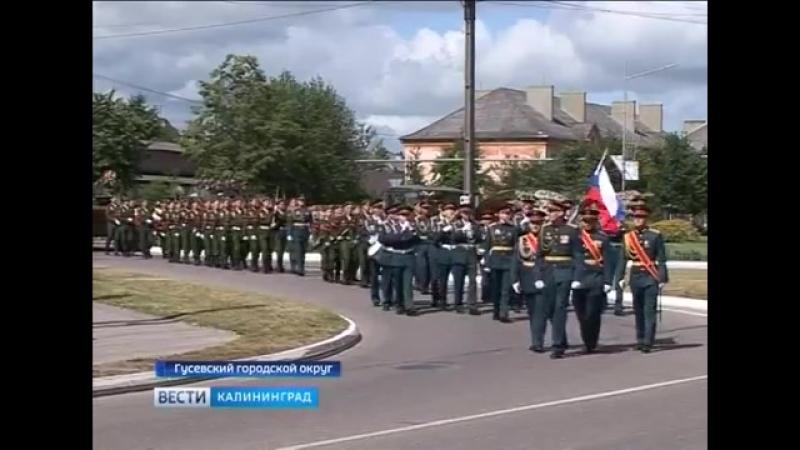 В посёлке Ольховатка Гусевского района захоронили останки 17 красноармейцев.
