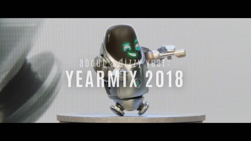 The Dizzy DJ - about a dizzy year. YEARMIX 2018