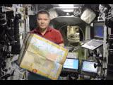 Поздравление космонавта, Героя России Олега Кононенко, прямо с борта Международной космической станции (МКС).