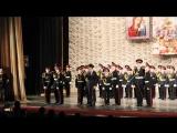 Фрагмент выступления Артёма с Хором Первого Московского Кадетского корпуса