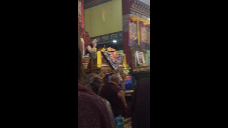 HH Karmapa 17 Thaye Dorje 11.03.2018