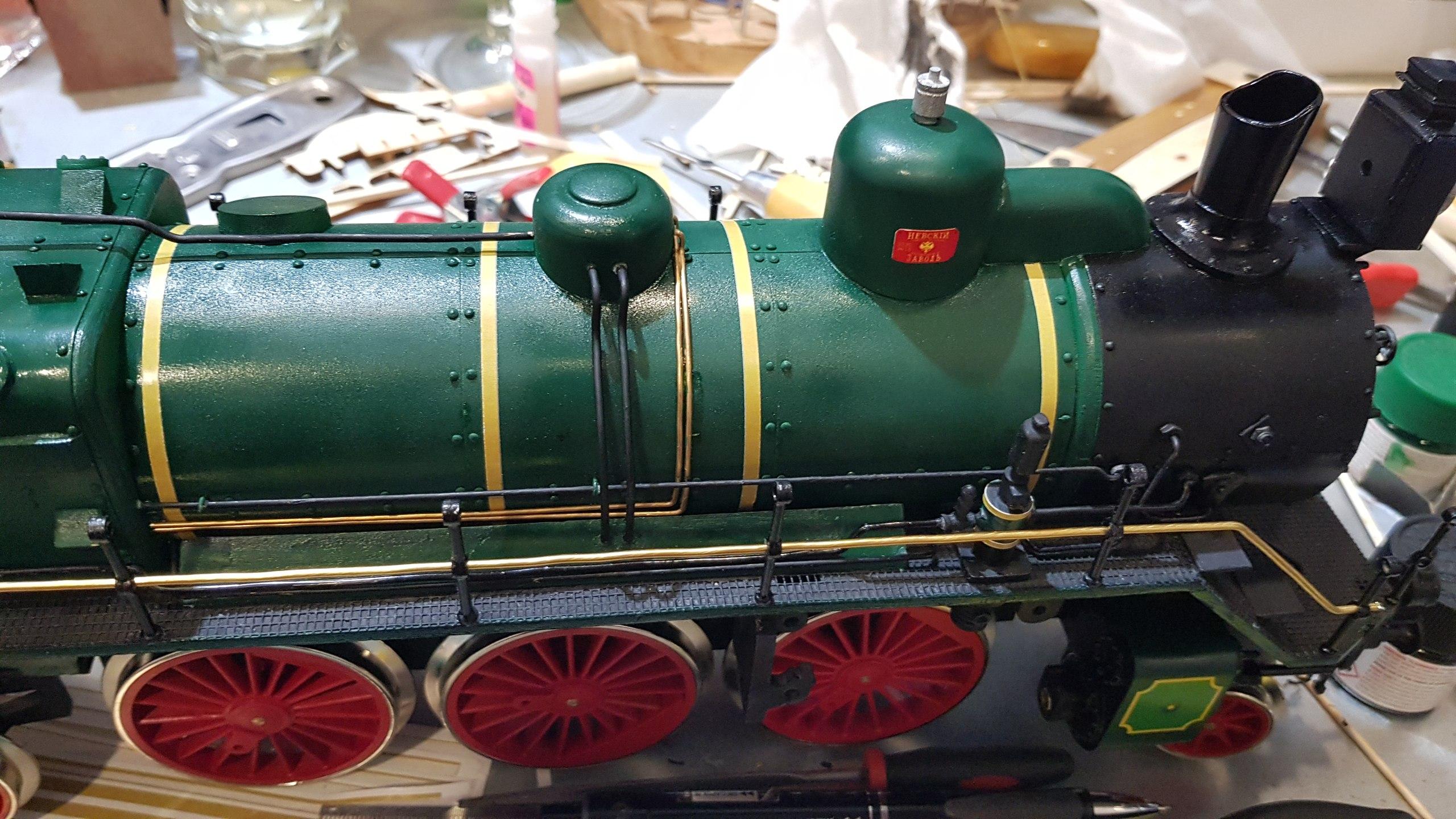 Модель паровоза С-68 масштаб 1:32 YzXTr3WcCNw