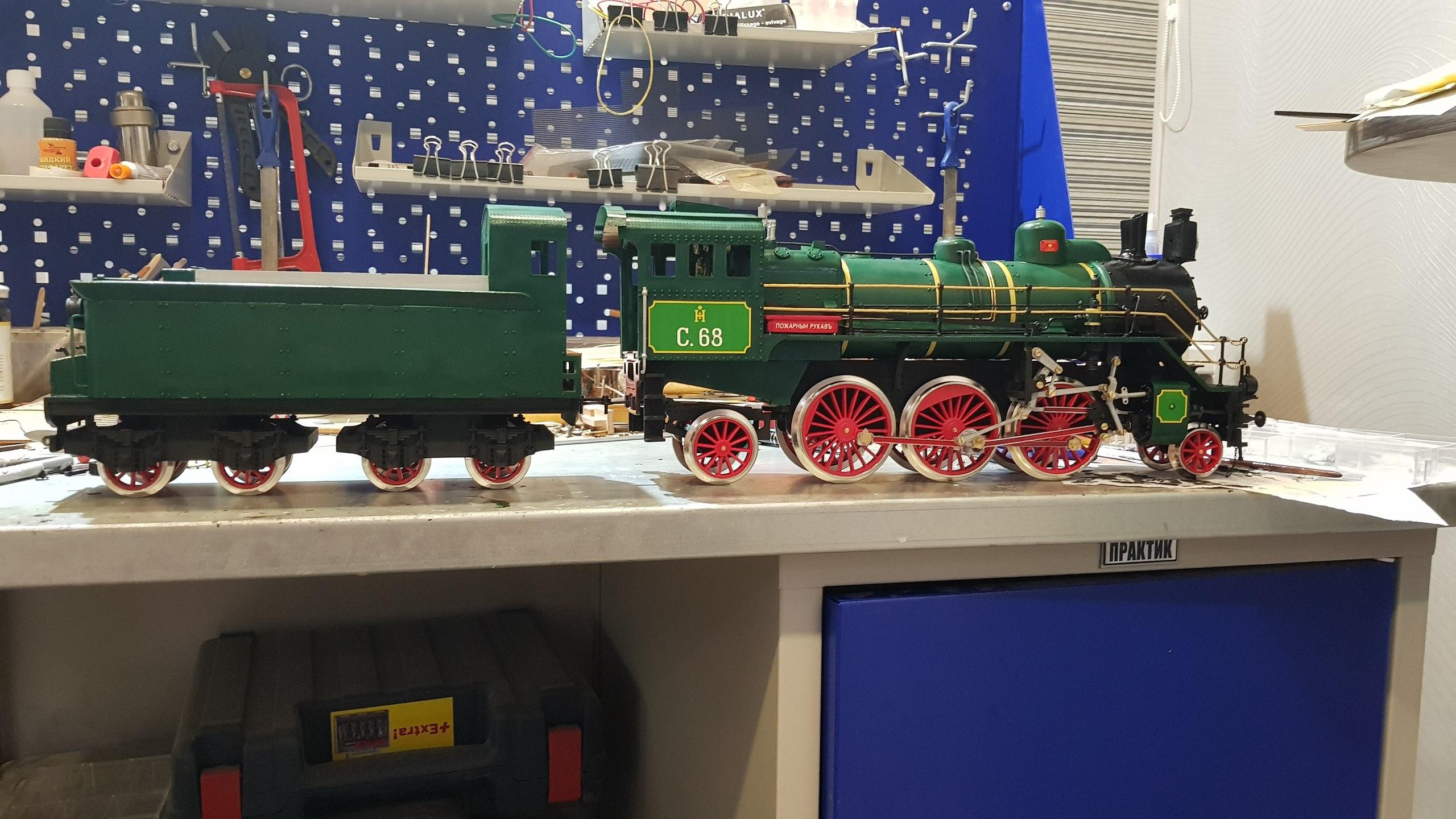 Модель паровоза С-68 масштаб 1:32 RBvDxn1iync
