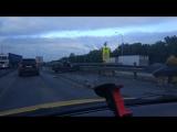 Трасса М5 Ходьковский мост через р. Белую 10.08.18