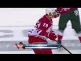 Первая шайба Александра Сёмина после возвращения в КХЛ