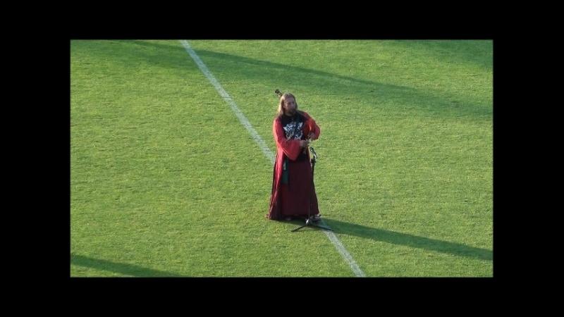 Alex Clover of FRAM - Scotlands - волынка на гомельском стадионе