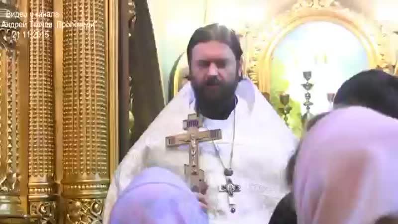 Шок для православных Проповедь не в бровь а в глаз Прот Андрей Ткачёв