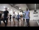 Bachata, фрагмент занятия вводного курса с Jorge Maryano, школа танцев Держи Ритм