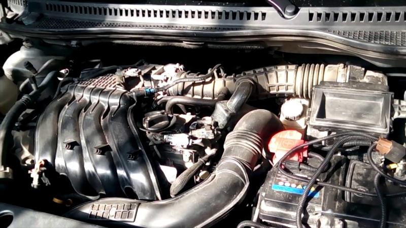 Удаление старого катализатора замена на пламегаситель воронкообразного типа Renault CAPTUR