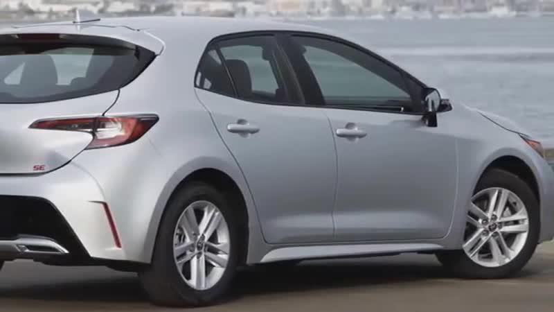 Toyota Corolla хэтчбек 2019