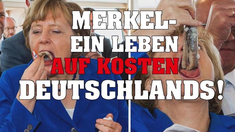 Millionärin Merkel – Ein Leben auf Kosten Deutschlands!