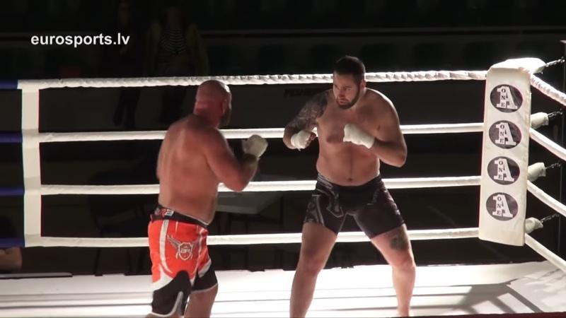 26.05.2017 Rihards Bigis (LV) vs Yurii Gorbenko (UKR) Ultimate Fight eurosports.lv