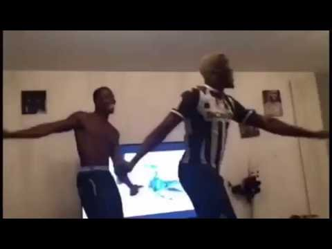 Paul Pogba Crazzy Dance Moves with his Brother