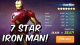 7 Star Iron Man Unlock, Rank Up &amp Gameplay! - Marvel Strike Force