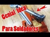 New awesome idea clamping for welders Nueva idea impresionante de sujeci