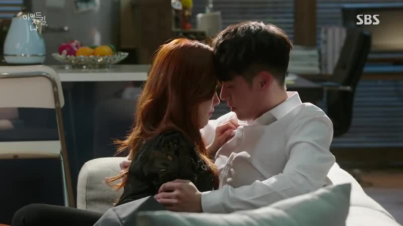 Поцелуй Хён Бин и Хан Чжи Мин в дораме Хайд, Джекилл и я