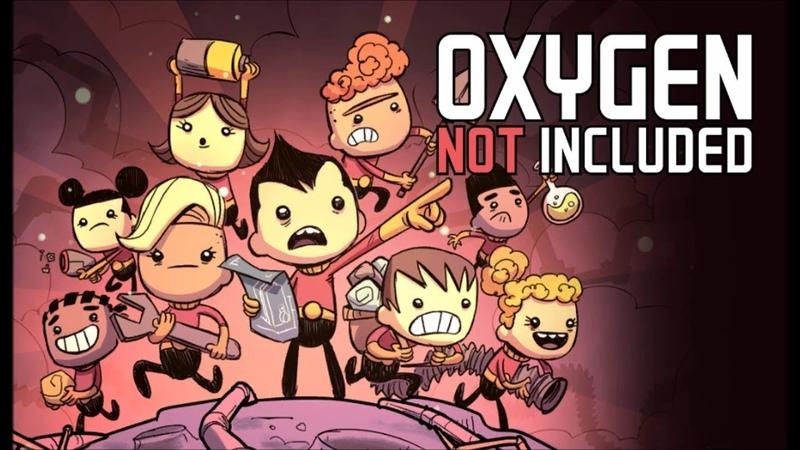 Oxygen not included новая колония и за обновления