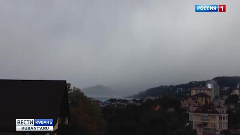 Ливни со шквалистым ветром прогнозируют сегодня и завтра на Кубани
