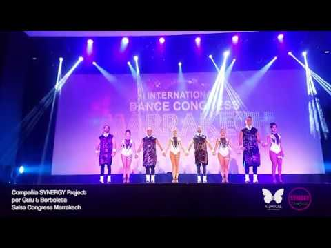 Synergy Project Company. Marrakesh Show Premiere Guiu and Borboleta. Kiz Soul.