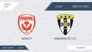 AFL18. France. Ligue 2. Group A2. Day 2. Amarante - Nancy
