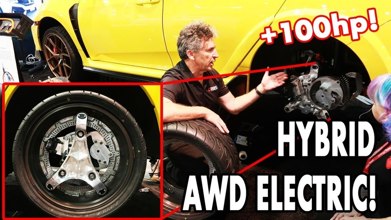 WORLD's FIRST ELECTRIC hybrid AWD Honda Civic Type R FK8 with 450hp!