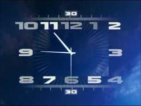 Первый канал. Часы от 2008 года склейка