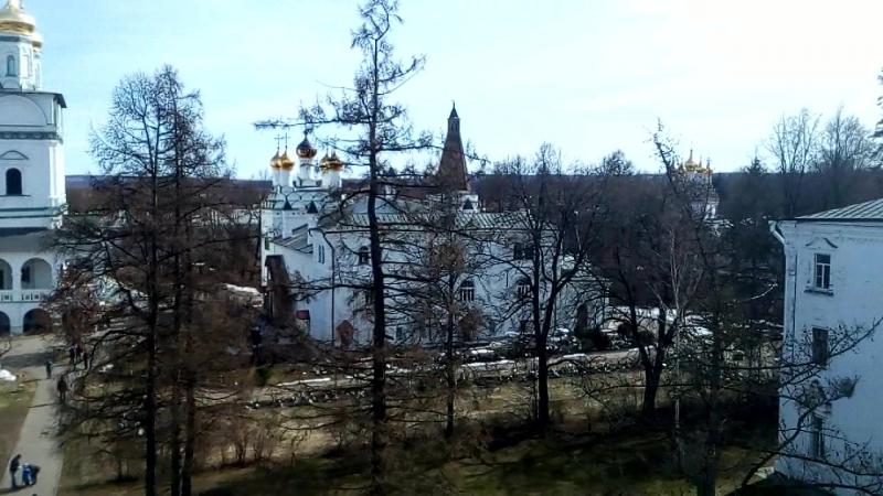 Панорама с колокольни Иосифо Волоцкого монастыря