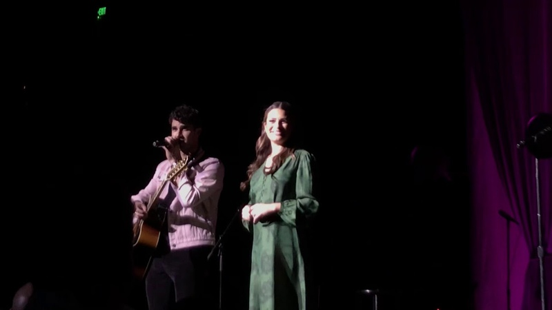 Make You Feel My Love - Lea Michele Darren Criss - LMDC Tour - San Francisco