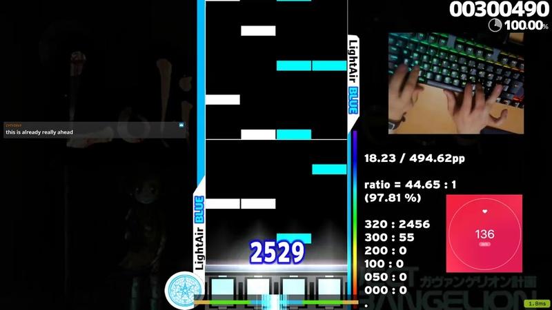 Osu mania Lolit Speed Marathon SS 998 765