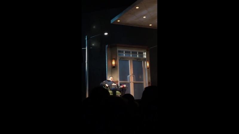 Небольшой отрывок из спектакля Lobby Hero смотреть онлайн без регистрации
