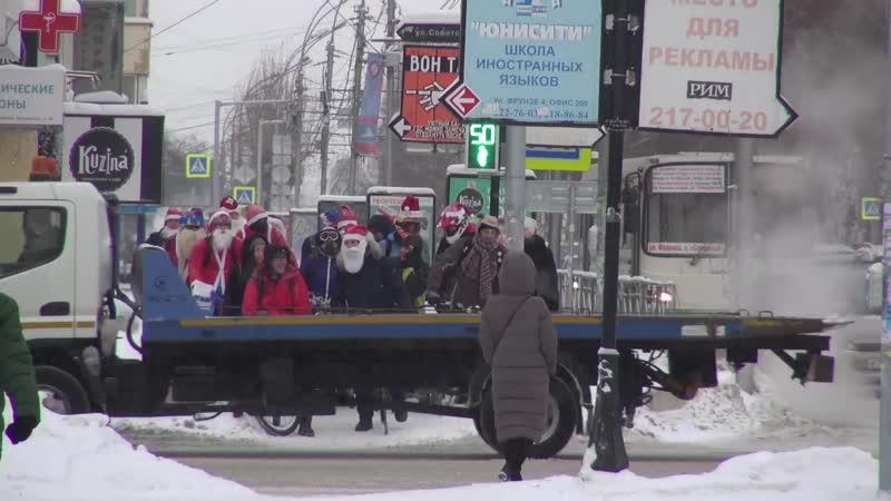 Велозаезд Дедов Морозов 2018