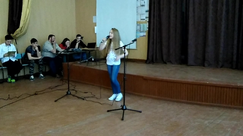 Выступает Соломахина Софья.