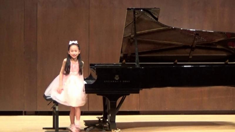 Harmony Zhu (age 8) - Chopin Nocturne in E-flat Major, Op.55 No.2