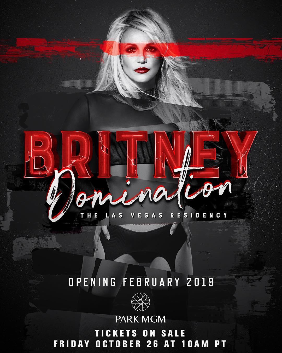 Бритни Спирс объявила о новом концерте 1