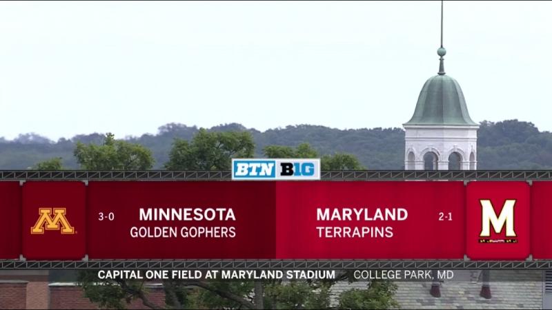 NCAAF 2018 / Week 04 / Minnesota Golden Gophers - Maryland Terrapins / 1Н / EN