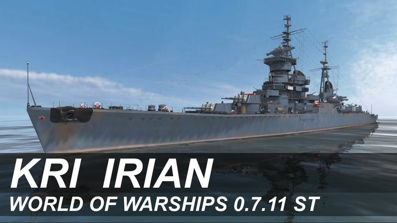 World of Warships: Индонезийский крейсер «Irian»