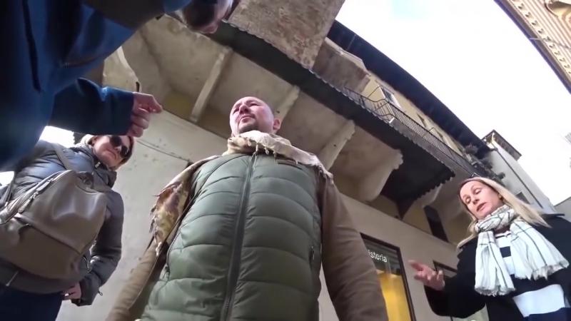 Радикальный хохол плюнул в морду пропагандисту Анатолию Шейнину