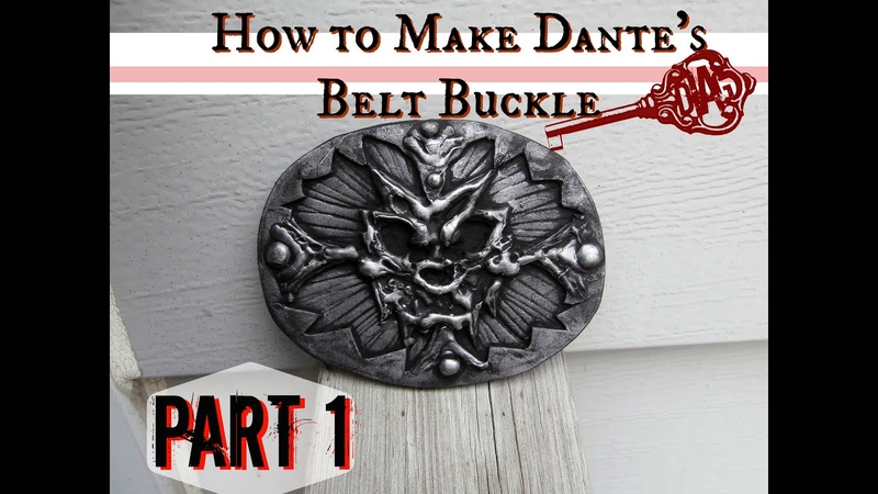 How to Make Dante's Belt Buckle- Cosplay Tutorial Part 1 | For Devil May Cry Cosplayers