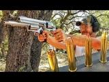 Гигантский револьвер... больше, чем .500 S&ampW Magnum Разрушительное ранчо Перевод Zёбры