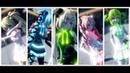 [MMD] Ikkitousen Cute MiniSkirt : Neru,Miku,Rin,Teto,Gumi