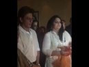 Manisha Koirala makes a wish as she cuts her Birthday cake along with family, friends and Shah Rukh Khan!
