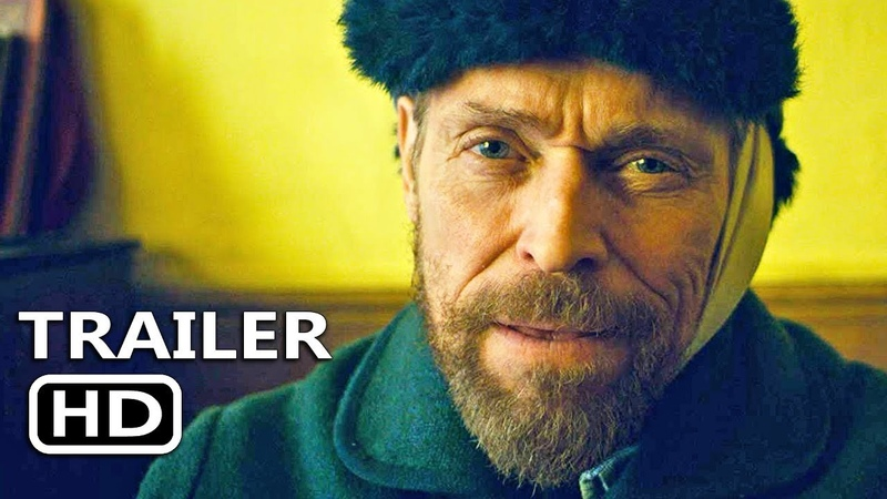 AT ETERNITYS GATE Official Trailer (2018) Vincent Van Gogh Movie