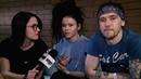 Дария Ставрович Игорь Лобанов группа Слот интервью о сингле На Марс! на Наше ТВ