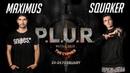 Squaker vs. Maximus | 1/4 | HIP-HOP 1x1 | P.L.U.R. Battle The Cypher