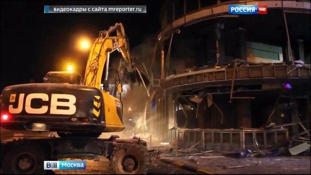 Вести-Москва • Сухаревская площадь осталась без самостроя